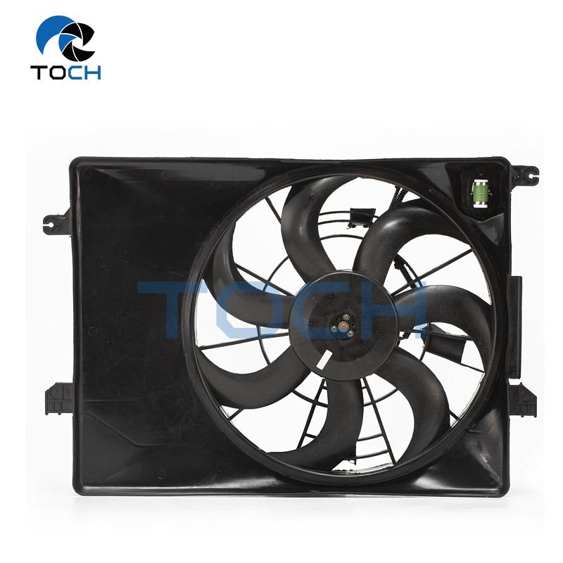 Wholesale Radiator Fan Cooling Parts 25231-1F000/25350-2S500 For HYUNDAI TUCSON/ IX32/KIA SPORTAGE 2010-