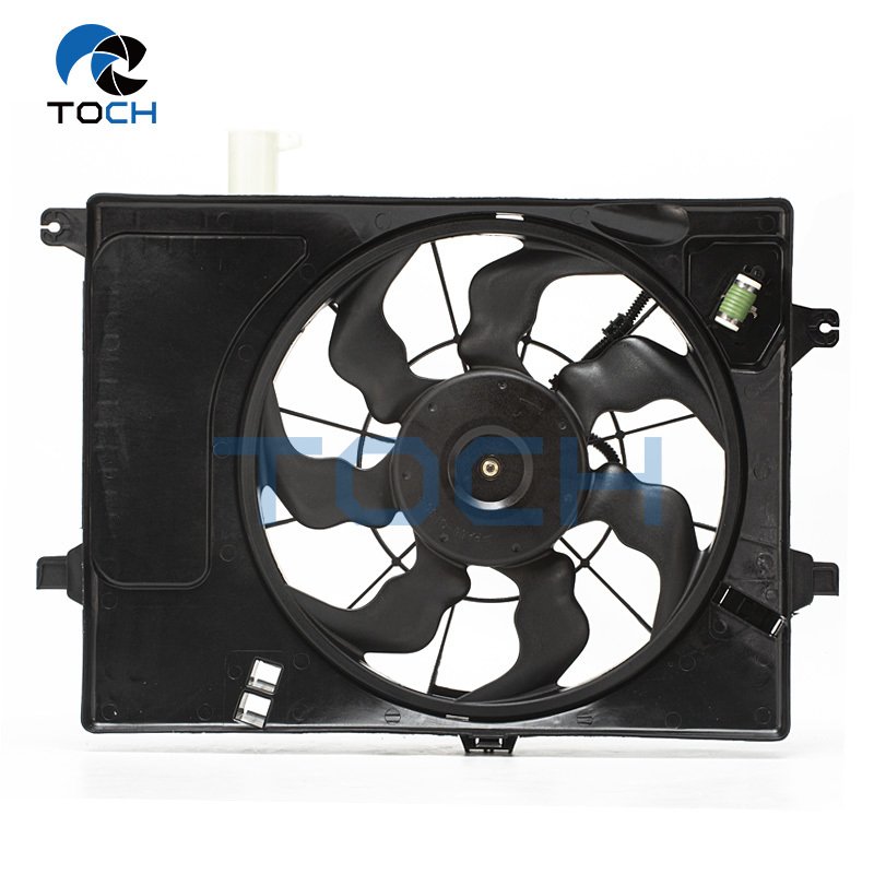 Cooling Air Duct With Fan Replacement Part 25380-0U050 For Hyundai