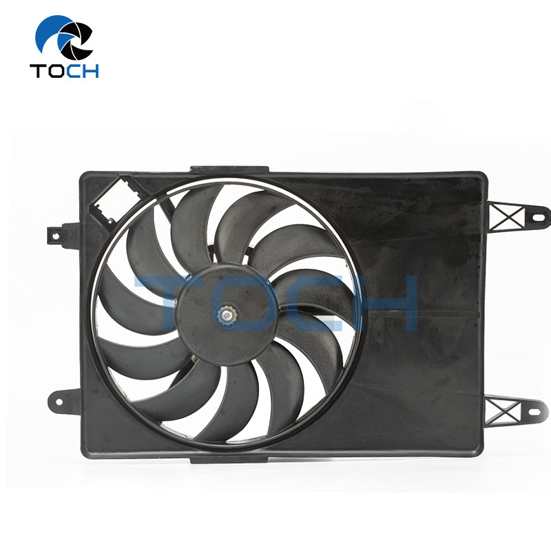 Vehicle Engine Electric AC Plastic Radiator Fan 2S658C607FB For Ford