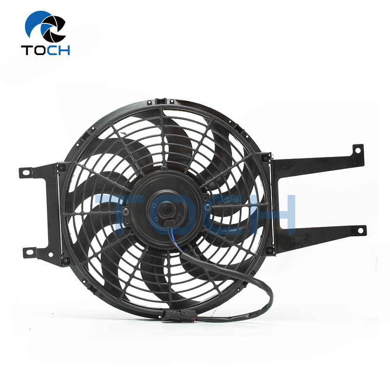 Auxiliary Engine Coolant Radiator Fan 15717423 For Chevrolet